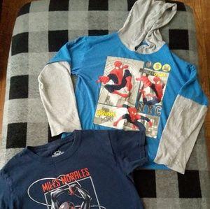 Boys shirts - Spiderman - Miles Morales